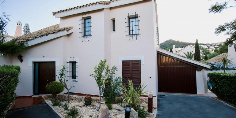 Front Door Area of Fully refurbished 4 bedroom villa in La Manga Club Spain Front Door Area