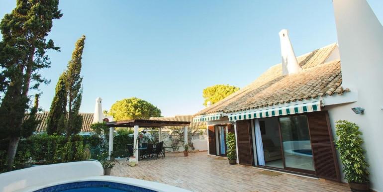 Fully refurbished 4 bedroom villa in La Manga Club Spain Pool Area