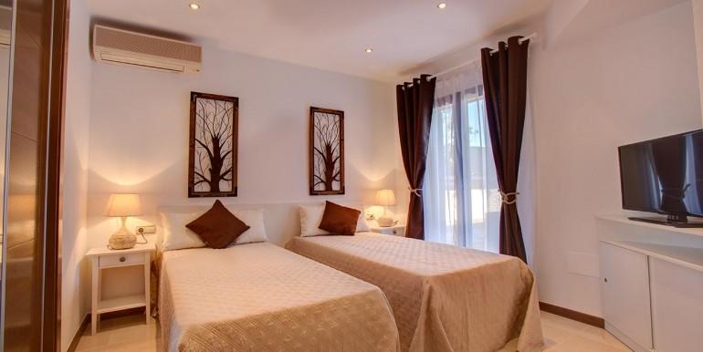 Fully refurbished 4 bedroom villa in La Manga Club Spain bedroom 2