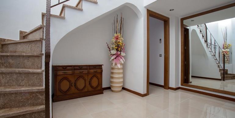 enterance of Fully refurbished 4 bedroom villa in La Manga Club Spain