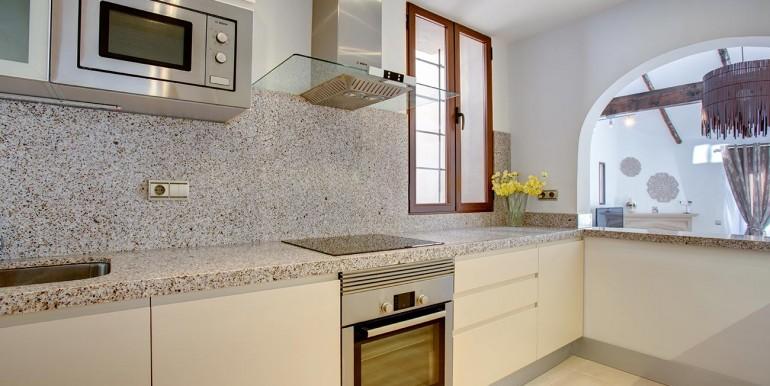 kitcen of Fully refurbished 4 bedroom villa in La Manga Club Spain
