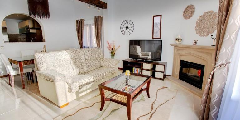 Fully refurbished 4 bedroom villa in La Manga Club Spain living room 1