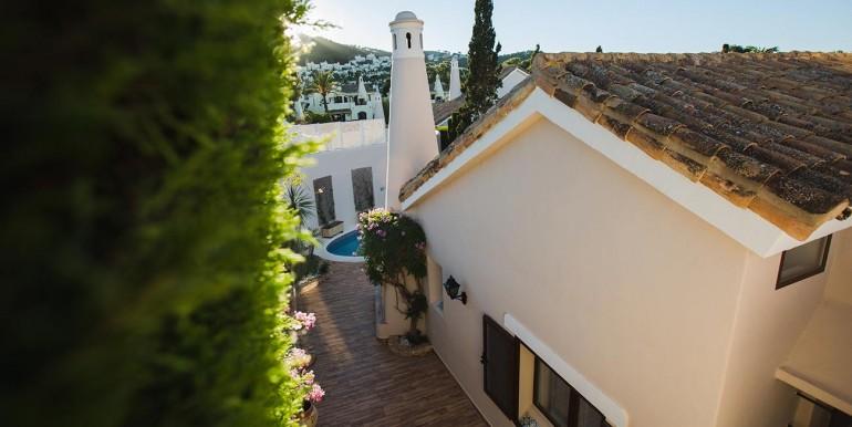 Fully refurbished 4 bedroom villa in La Manga Club Spain outside