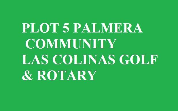PALMERA COMMUNITY PLOT 5