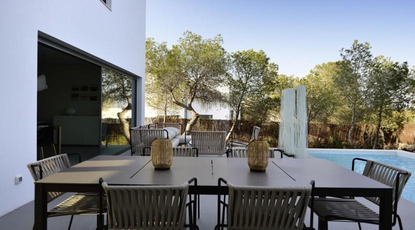 Abubilla Villa for Sale Las Colinas Golf Resort  (outside table)