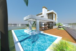 Buganvillas La Manga Club villa for sale pool