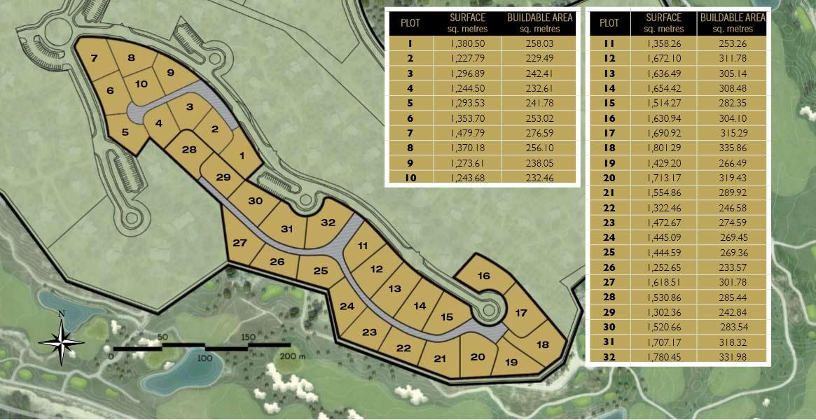 Plot for Sale Las Colinas Golf (Adelfa Community)