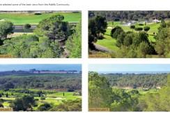 Plots for sale Adelfa community Las Colinas Golf Resort views